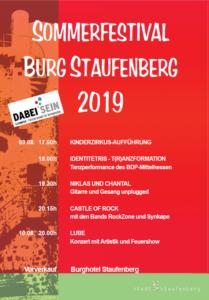 Sommerfestival: Burg Staufenberg @ Burgruine Staufenberg